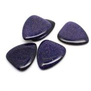 Dune Tones - Blue Goldstone - 1 Guitar Pick | Timber Tones